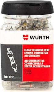 LTD TIME-CLEAR WINDOW HEAT SHRINK CON ASST JAR