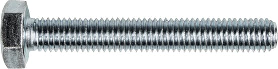 M10-1.25X35MM MF FT HEX BOLT JIS 8.8 ZN