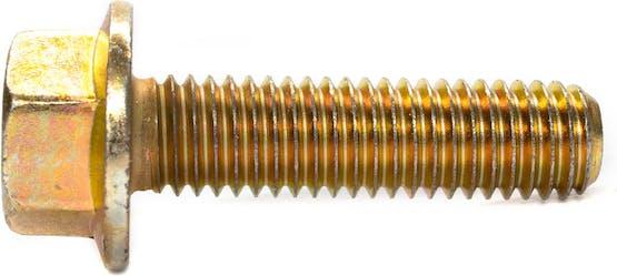 M8-1.25X30MM WAF12 MC FT FL HEX BOLT JIS 10.9 YZT