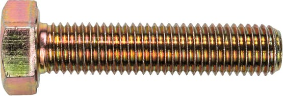 M6-1.0X18MM MC HEX BOLT 10.9 ZN DIN933