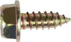 LIC PLT SCR HEX+W PH YLZN 1/4x5/8