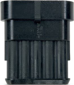 TE SUPERSEAL 1.5 SERIES PIN HOUSING 5 WIRE