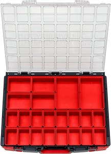 SYSTEM CASE 8.4.1 CLEAR W/22PC BOXES