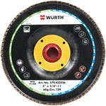 EZ-SPIN FLAP DISC TYPE 29 ZIRC 4-1/2''x5/8-11 120G