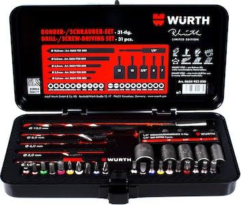 RW-Drill Bits-Nut Setters And Bit Set-31pc