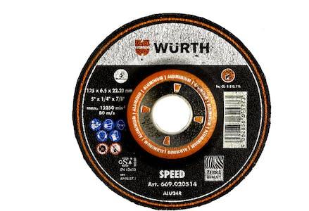 """SPD GRIND DISC ALU 5"""" X 1/4"""" X 7/8"""" T27"""