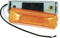 INCANDESCENT SEALED BEAMS 1 X 4 AMBER
