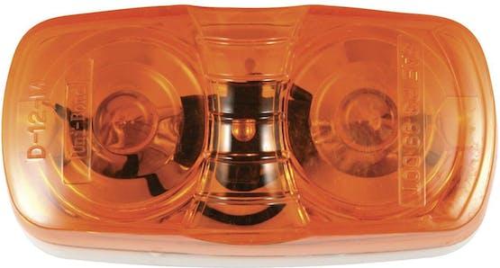 INCANDESCENT BULLSEYE MARKER LAMPS AMBER