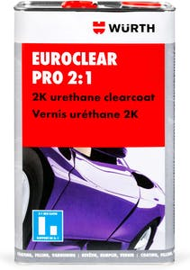 Euroclear Pro 2:1, 2K Urethane Clearcoat, 5L