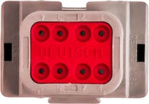 RECEPTACLE 14-18 AWG DT04-8P