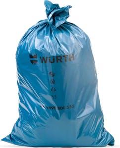 GARBAGE BAG -120 LITERS -BLUE