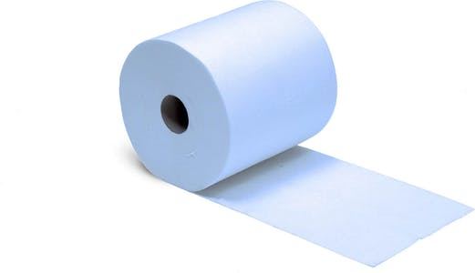 INDUSTRIAL TOWEL ROLL BLUE 3 PLY