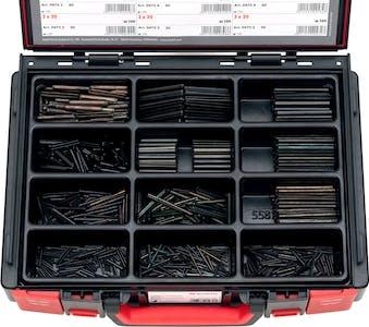 ASST. SPRING PIN ISO8752 BARE M2-M6  1100 PCS