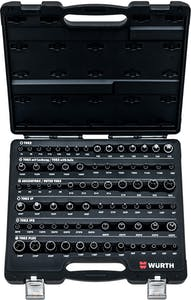 Set of socket wrenches and Torx bits 77pc