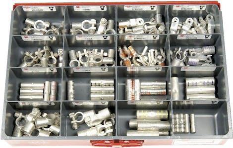 ASST. H.D. BATTERY TERMINAL POWER SPLICE 80 PCS
