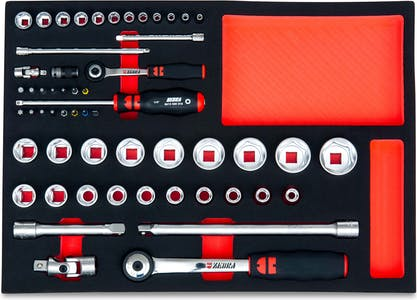 ZEBRA socket wrench tool set large hex 56PCS