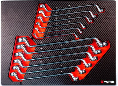 System assortment 8.4.1- double-end box wrench 12pc Metric-