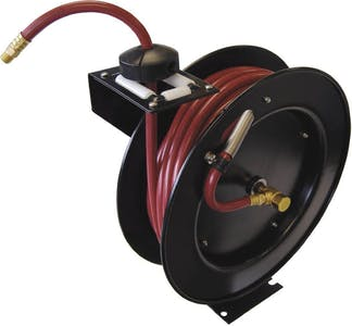 HOSE REEL HD WITH 3/8 X 50FT HOSE